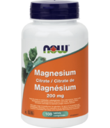 NOW Foods Magnesium Citrate 200 mg