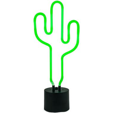 Amped & Co. Neon Cactus Desk Light