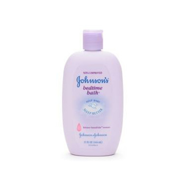 Johnson\'s Baby Bedtime Bubble Bath & Wash