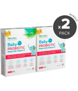 Organika Baby Probiotic Drops with Vitamin D Bundle