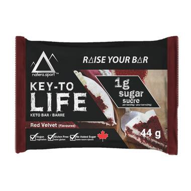 Key-To Life Keto Bar Red Velvet