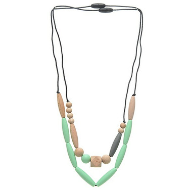 Chewbeads Metropolitan Teething Necklace Mint