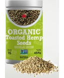 Natera Organic Toasted Hemp Seeds