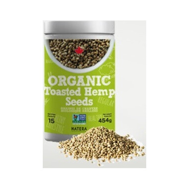 Natera Organic Toasted Hemp Seeds
