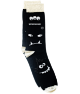 Q for Quinn Organic Cotton Socks Monochrome Monsters Single Pair
