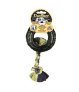 Mammoth Small 4.5 Inch TireBiter with Rope Dog Toy