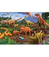Cobble Hill Dinos Puzzle