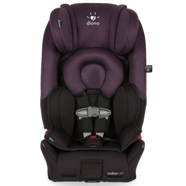Diono Radian RXT Convertible Booster Car Seat Black Plum