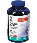Be Better Omegas 3-6-9 Flaxseed Fish & Borage Oil