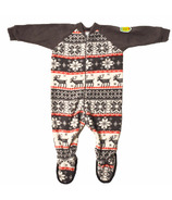 Snug As A Bug Kids Footed Onesie Cozy Cottage