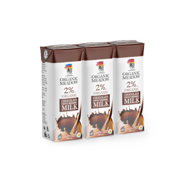 Organic Meadow Shelf Stable Organic 2% Chocolate Milk