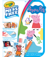 Crayola Color Wonder Mini Mess-Free Colour On-The-Go Peppa Pig