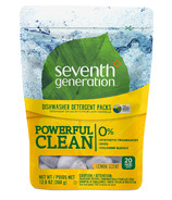 Seventh Generation Natural Automatic Dishwasher Packs Lemon Scent