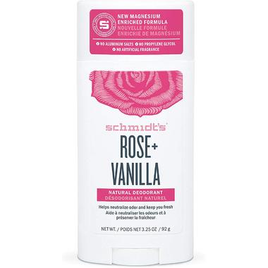 Schmidt\'s Deodorant Rose & Vanilla Deodorant