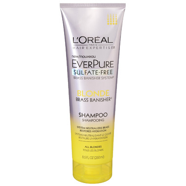 L\'Oreal Everpure Brass Banisher Shampoo for Blondes