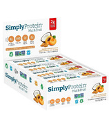 Simply Protein Nut & Fruit Bar Apricot Almond Coconut Case