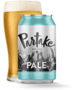 Partake Brewing Pale Ale Nonalcoholic Craft Beer