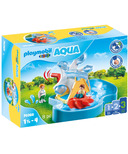 Playmobil 1.2.3 Aqua Water Wheel Carousel