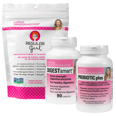 Lorna Vanderhaeghe Bloating & Tummy Trouble Bundle