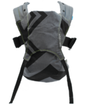 We Made Me by Diono Venture+ Toddler Carrier Black & Charcoal Zig Zag