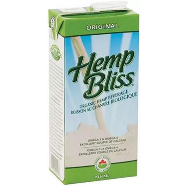 Manitoba Harvest Hemp Bliss Organic Original Non-Dairy Beverage