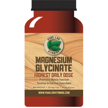 Pure Lab Vitamins Magnesium Glycinate
