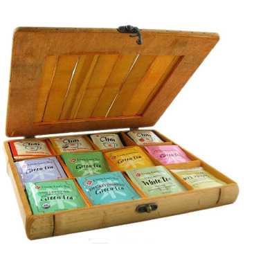 Uncle Lee\'s Bamboo Tea Chest