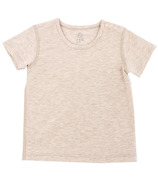 Nest Designs Basics Bamboo Cotton Short Sleeve T-Shirt Warm Taupe