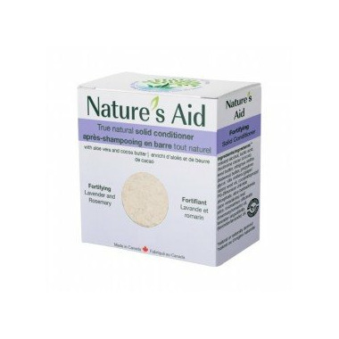 Nature\'s Aid Solid Conditioner Lavender Rosemary