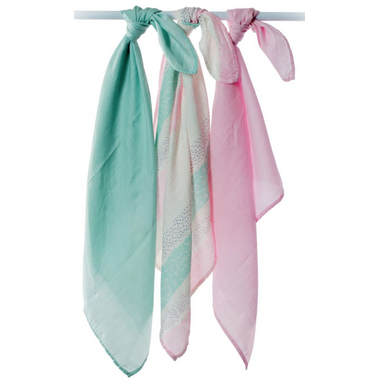 Lulujo Mini Muslin Bamboo Cloths