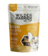 Wilder & Harrier Dog Vegan Biscuits - Seaweed Pineapple Ginger