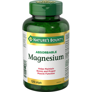 Nature\'s Bounty Absorbable Magnesium