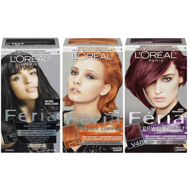 L\'Oreal Feria Hair Color