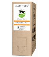 ATTITUDE Recharge pour Nettoyant Tout-Usage Nature+ Zeste d'Agrumes
