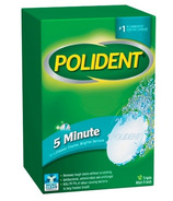 Polident 5 Minute Denture Cleanser