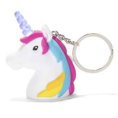 Kikkerland Unicorn LED Keychain