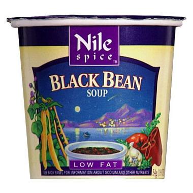 Nile Spice Black Bean Soup