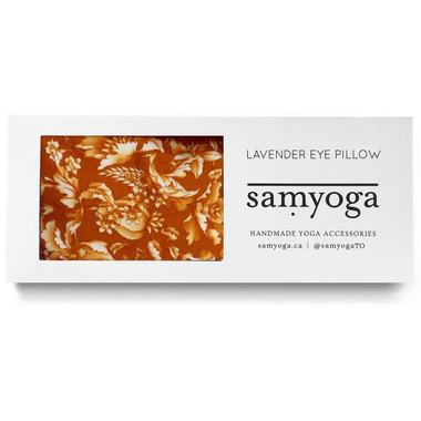 Lavender Eye Pillow Floral Yellow