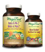 MegaFood Baby & Me 2 Multi-Vitamin with Bonus Blood Builder