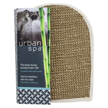 Urban Spa Bamboo & Jute Bath Mitt