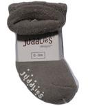 Juddlies Newborn Baby Socks Grey