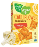 From the Ground up Cauliflower Crackers Nacho