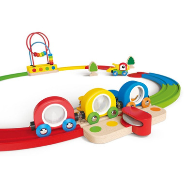 Hape Toys Sight & Sound Train Set