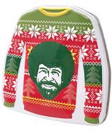 Bob Ross Christmas Sweater Tin Happy Tree Green Apple Sours