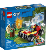 LEGO City Forest Fire Building Kit