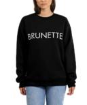 BRUNETTE the Label Brunette Core Crew Black
