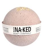 Bombe de bain à l'argile violette brésilienne et à l'avoine Buck Naked Soap Company