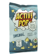ActivPOP Popcorn Original Activated Charcoal Infused Sea Salt