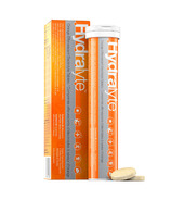 Hydralyte Orange Effervescent Tablets