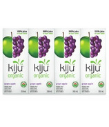 Kiju Organic Grape-Apple Juice Boxes